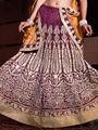 Viva N Diva Bhagalpuri Embroidered Lehenga - Magenta