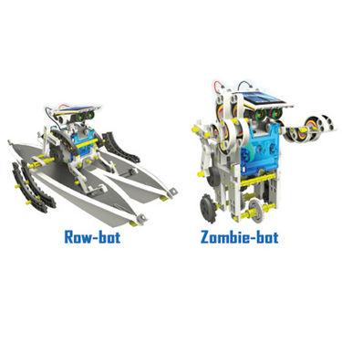 Buy 14 in 1 Educational Solar Robot Kit - Multicolor ...
